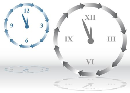 Arrow Clock Stock Photo - 7229239