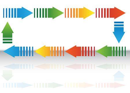 Arrow Chart Stock Photo - 7229240