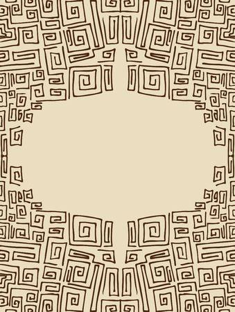 角形スパイラル 写真素材
