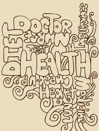 Health Words photo