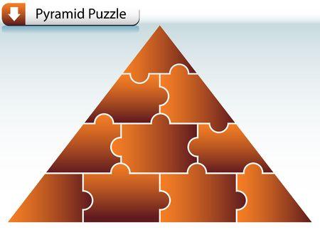 Puzzle Pyramid photo
