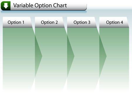 Option Chart Фото со стока - 7267098