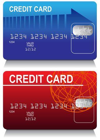 Credit Card Set Фото со стока