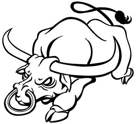 Angry Bull Фото со стока - 7300650