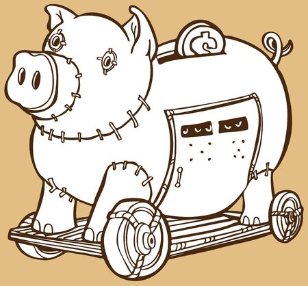 trojan horse: Cavallo di Troia Piggy Bank