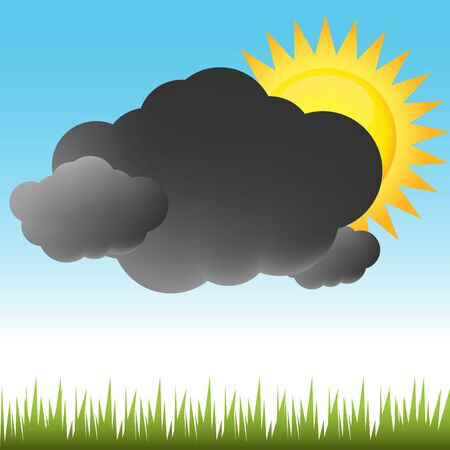 partly sunny: Partly Sunny Weather