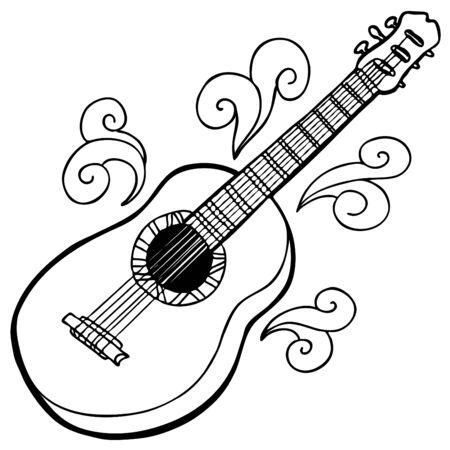 Guitar Imagens - 7328164