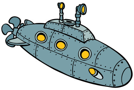 Onderzee Vector Illustratie