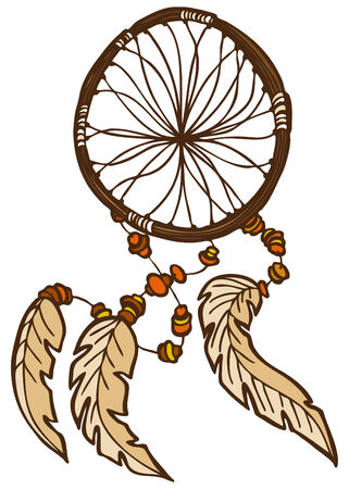 Dreamcatcher Stock Vector - 7340490