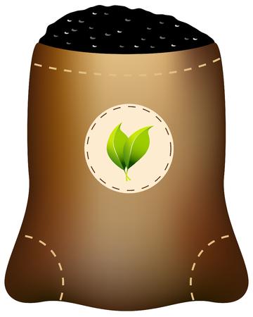 Fertilizer Bag Vettoriali