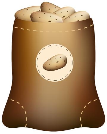 Potato Sack Ilustração