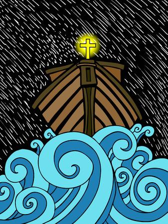 Noah's Ark Ilustrace