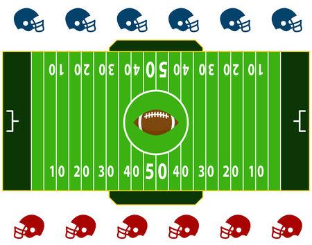 Football Field Çizim
