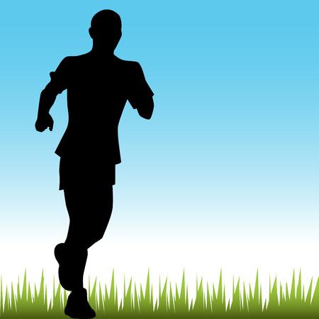 Runner Stock Vector - 7468944