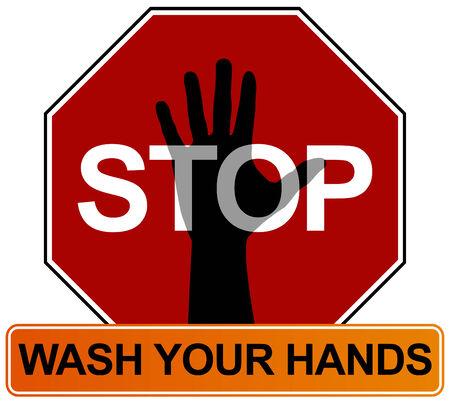 washes: Hand Washing Sign