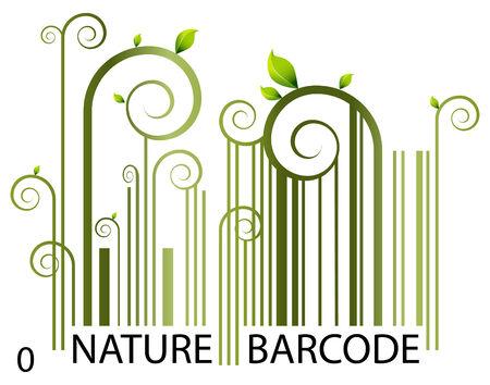 Codes à barres de nature  Vecteurs