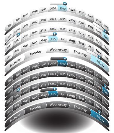 decade: Timeline Arch
