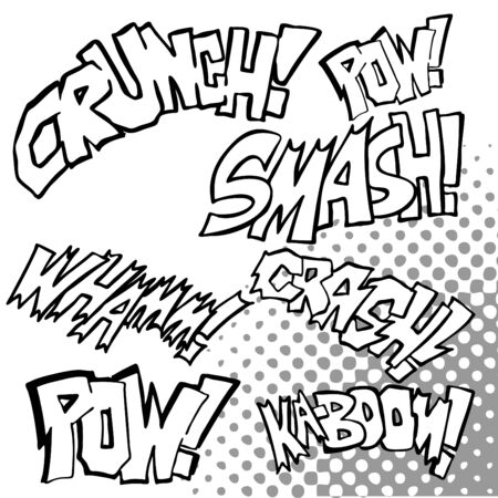 pow: Comic Sound Effects