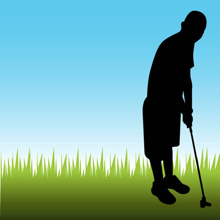 mini: Man Playing Golf