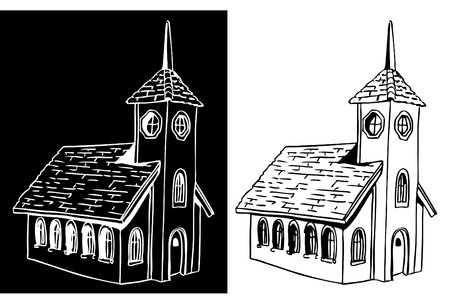 chapel: An image of a church.