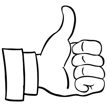 thumb's up: An image of a thumbs up.