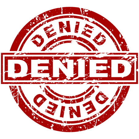 An image of a denied stamp.