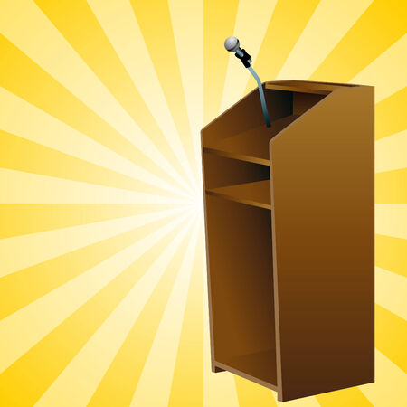 clipart podium: An image of a podium. Illustration