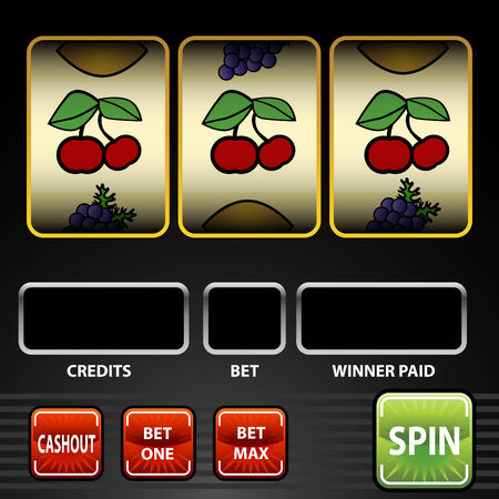 An image of a slot machine.