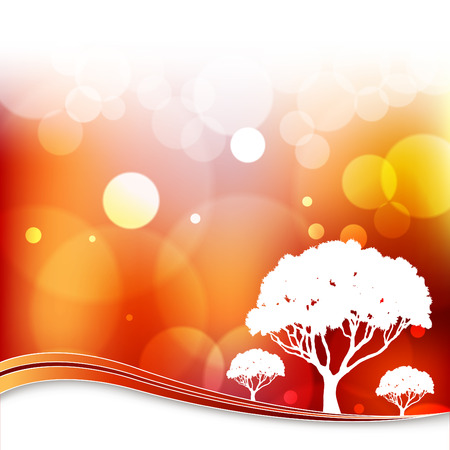 An image of an artysy tree background.