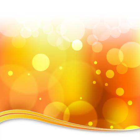 An image of a blurry orange light background. Ilustração