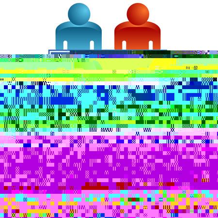 Une image d'une table de travail en équipe. Banque d'images - 7853011