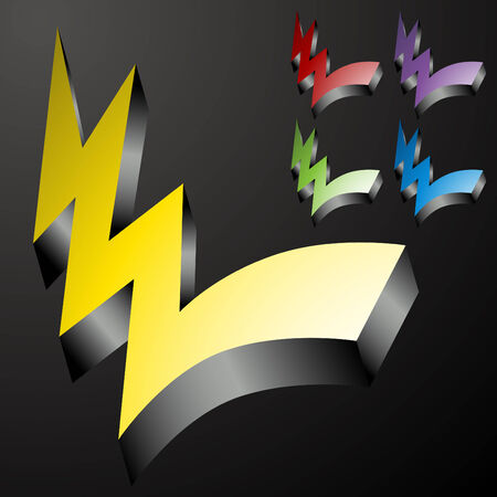 checklist: An image of 3d checkmark lightning bolts.