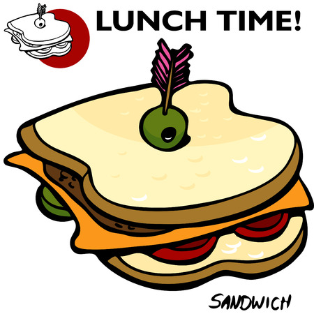 An image of a Sandwich Drawing.