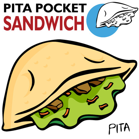 An image of a Pita Pocket Sandwich.