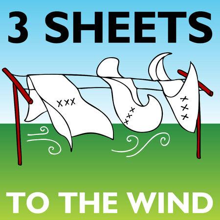 Een afbeelding van drie bladen aan de wind.