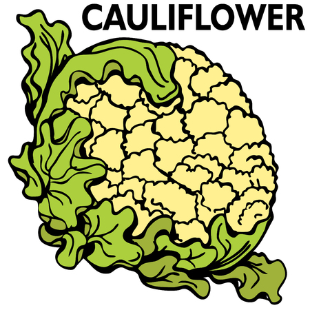 An image of a head of cauliflower.