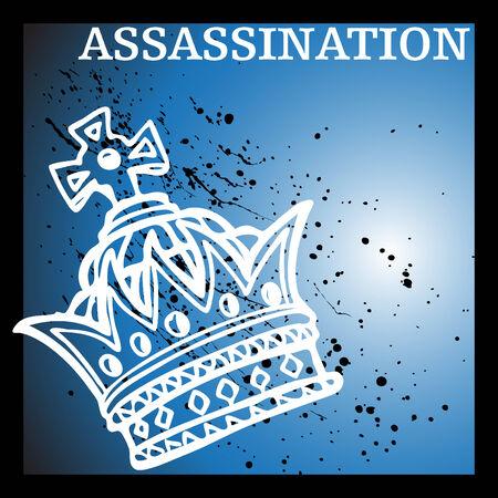 assassinate: An image representing royal assassination.