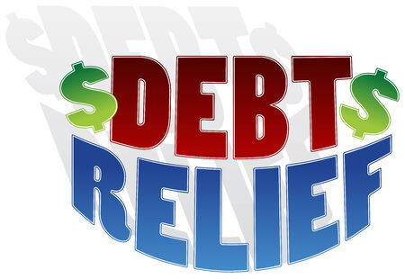 soulagement: An image of a debt relief