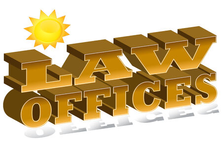 An image of a law offices icon. Stock Vector - 8615141