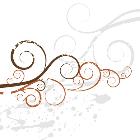An image of a grunge swirl background texture. Çizim
