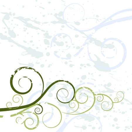 swirling: An image of a grunge swirl background texture. Illustration