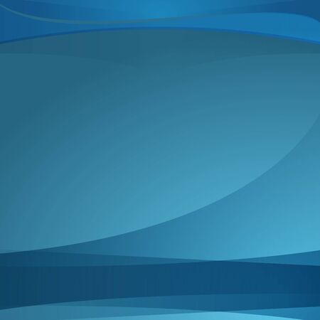 An image of a blue wave background with transparent layers.