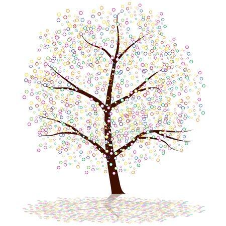 artsy: An image of a dot tree.
