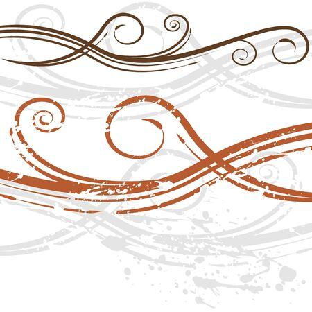 An image of a elegant wedding invitation swirl background.