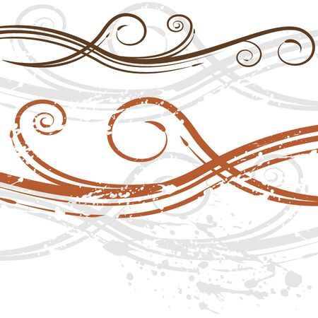 scrolling: An image of a elegant wedding invitation swirl background.