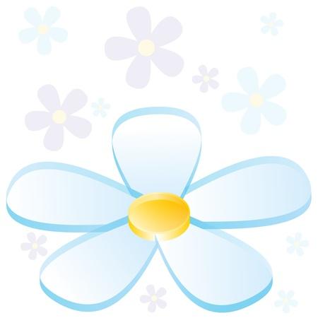 petal: An image of a 3d business flower chart. Illustration