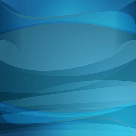 透明な青の波背景の画像。