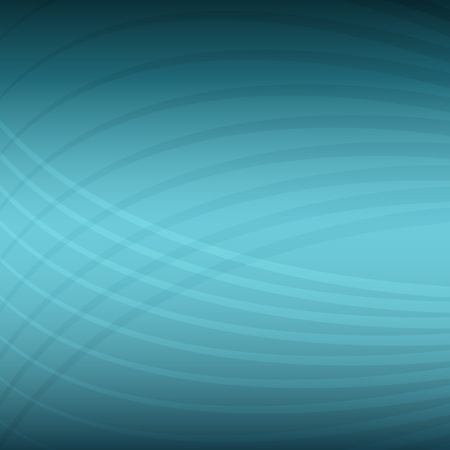 technology abstract background: An image of a teal energy wave pattern background. Illustration