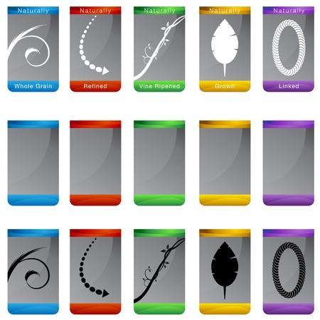 An image of a naturally button set.