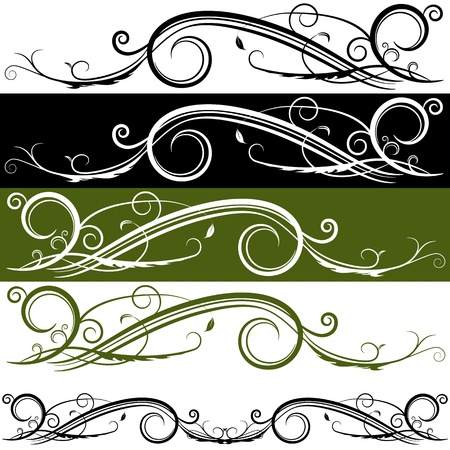 An image of a flourish banner. Stock Vector - 15561295